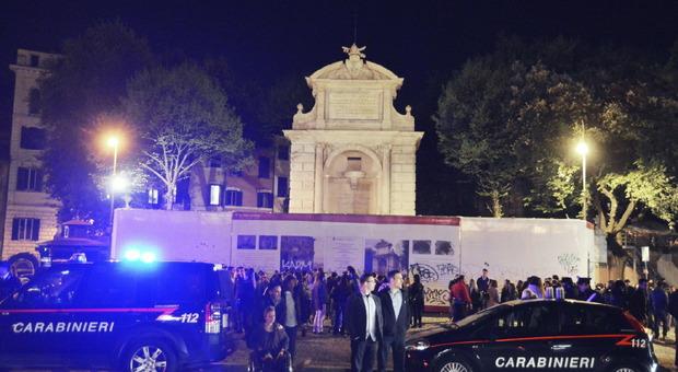 Movida, controlli a tappeto a Trastevere: oltre 100 identificati, tre arresti