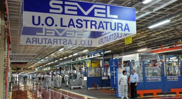 L'impianto Sevel di Stellantis in Val di Sangro