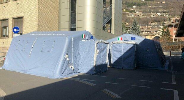 Covid, guasto a sistema ad Aosta: decine di falsi positivi