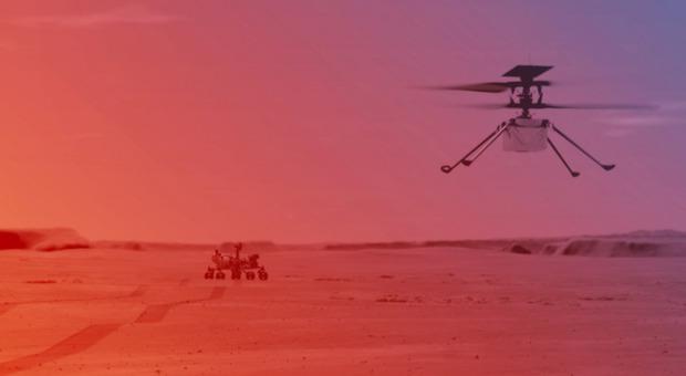Marte, Ingenuity mini-elicottero pronto allo storico decollo: appuntamento rinviato al 14 aprile Orari e diretta streaming