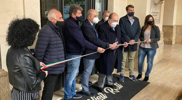 Inaugurato il nuovo ufficio turistico di Rieti: «Un buon segnale in vista della ripartenza del settore»