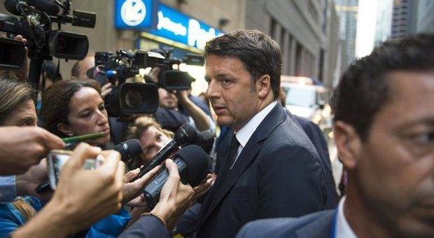 Renzi attacca i burocrati di Bruxelles: «Quali tasse ridurre lo decidiamo noi»