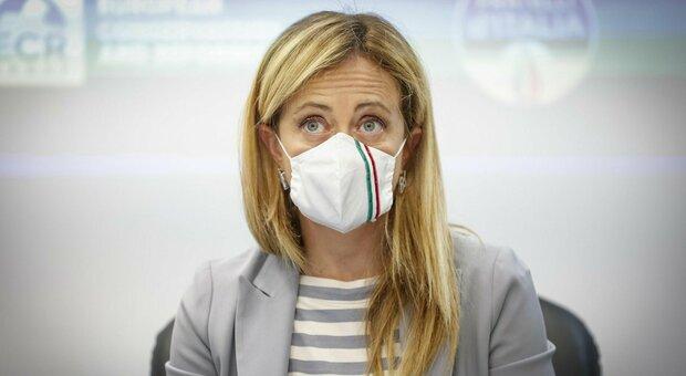 Giorgia Meloni: «Il sindaco di Roma? Per il centrodestra candidato unico, gli altri ne hanno 3. Letta è un marziano»