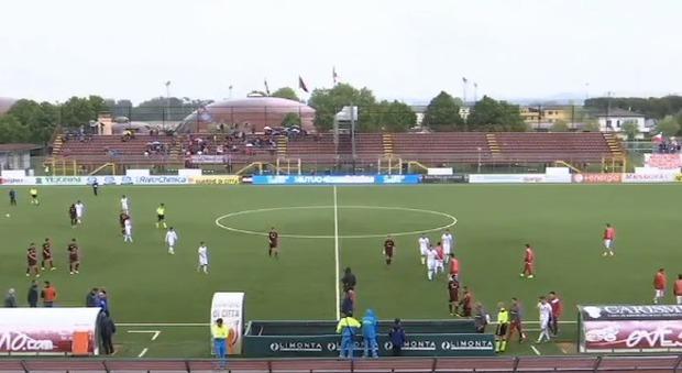 Lega Pro, pari e Tim Cup: 3-3 del Teramo a Pontedera
