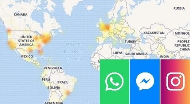 Whatsapp e Instagram down, Telegram continua a fuzionare regolarmente