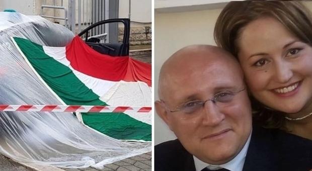 Il dolore di Stefania, la compagna del carabiniere ucciso: «Avevamo costruito una casa»