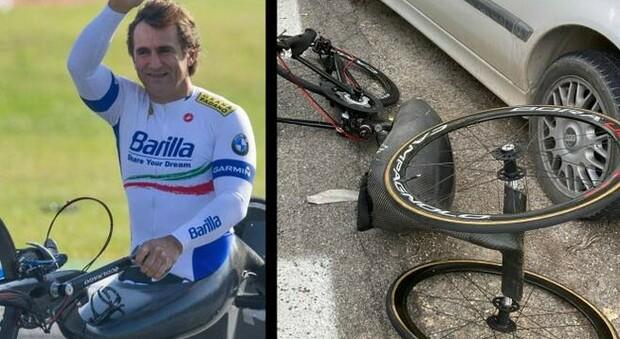 «Alex Zanardi provò a evitare il camion ma perse il controllo dell'handbike»: nuove perizie sull'incidente