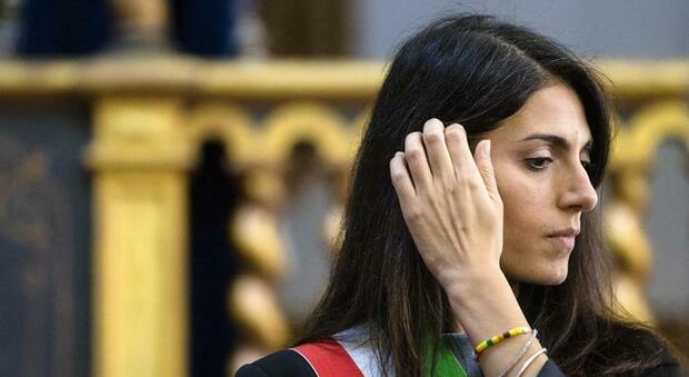 Virginia Raggi nella scuola delle suore implora i giornalisti: «Siate clementi, Roma ha tante criticità»