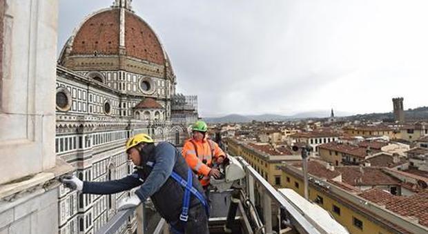 Il monitoraggio dei monumenti a Firenze