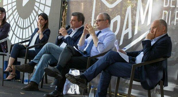 Roma, diretta live del confronto fra i candidati sindaco Raggi, Gualtieri, Calenda e Michetti