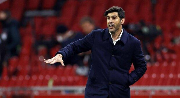 Roma: Fonseca: «Smalling non recupera per l'Ajax, ok Micki. Il mio futuro? Penso al presente»