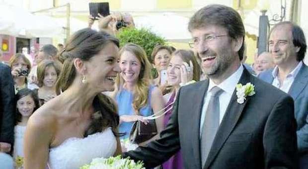 Le nozze tra Dario Franceschini e Michela Di Biase