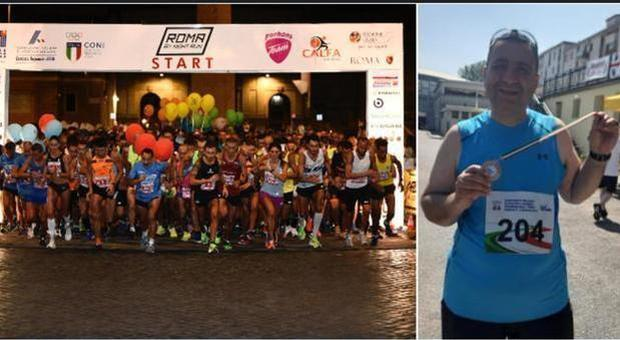 podista morto alla mezza maratona Roma by night Run: malore al quarto chilometro