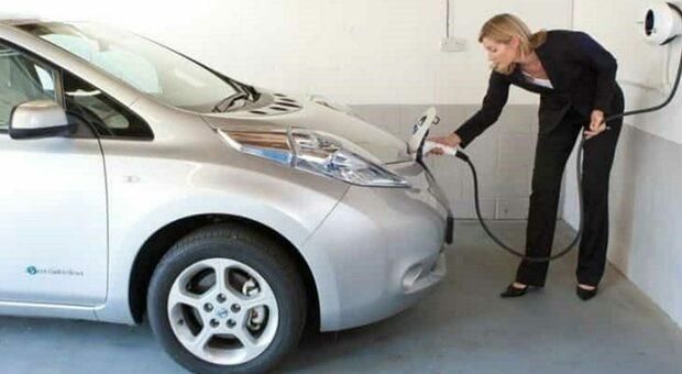 L'auto si scambia l'energia con la casa
