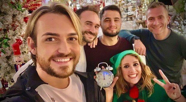 """Valerio Scanu, ecco """"Il Canto di Natale"""": cd e dvd girato nel Regno di Babbo Natale a Vetralla"""