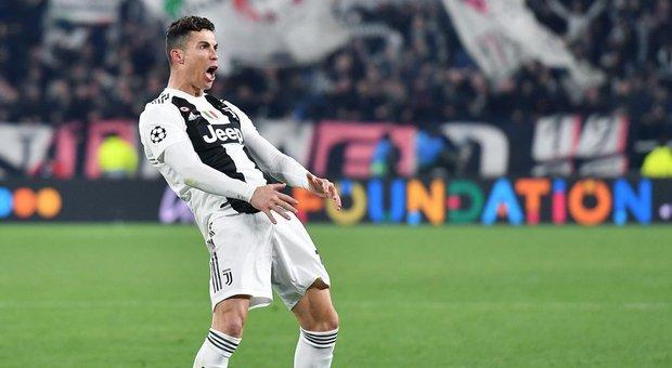 Champions, Juve-Atletico: la Uefa indaga sull'esultanza di Ronaldo