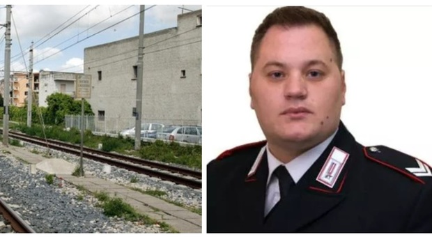 Caserta, carabiniere muore travolto dal treno mentre insegue il ladro