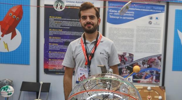 Andrea Alimenti, presidente dell'Associazione Pontina di Astronomia (Ag. Toiati/Emanuele Valeri)