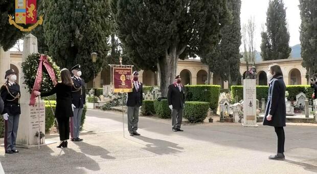 Anche a Rieti la polizia festeggia il 169° anno dalla fondazione