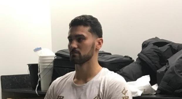 Las Vegas, Vianello vince il suo incontro in soli 2 minuti