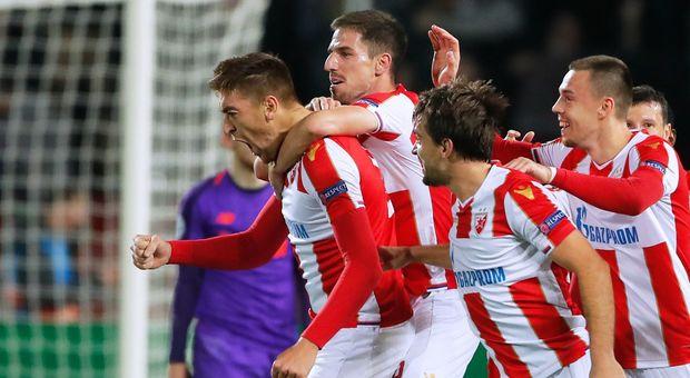 Il Liverpool crolla Belgrado sconfitto 2-0 dalla Stella Rossa