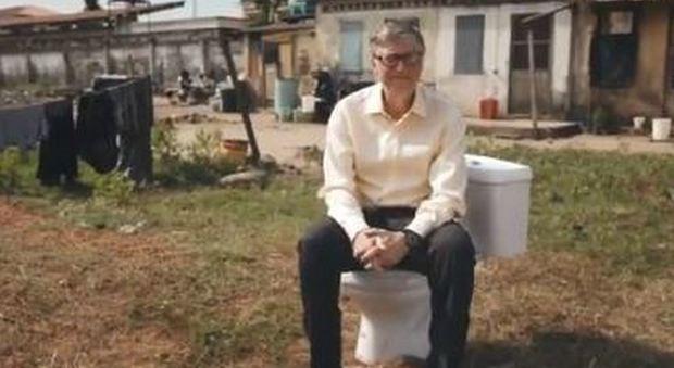 WC del futuro: Bill Gates e la proposta salva vite