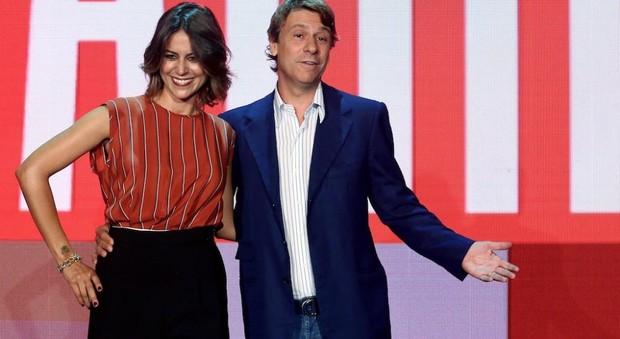 Greta Mauro e Nicola Porro