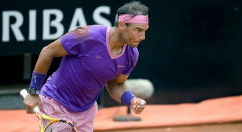Internazionali, è Rafa Nadal è il secondo semifinalista: affronterà Opelka. Sonego alle 19