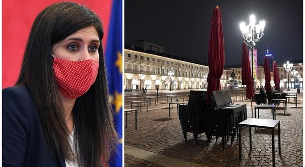 Covid, coprifuoco a Torino, Appendino firma l'ordinanza anti-assembramenti