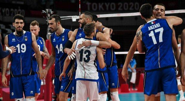 Italia-Canada volley, risultato: gli azzurri partono male ma rimontano 3-2 al tie break