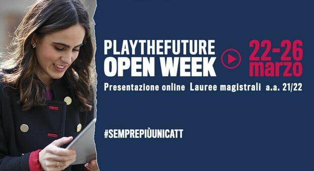 """Università Cattolica, al via """"Play the Future"""": l'Open week che guiderà gli studenti nella scelta del percorso di laurea"""