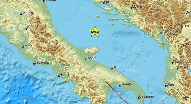 Terremoto, scossa avvertita in Campania e Puglia. Esplose sul web le segnalazioni
