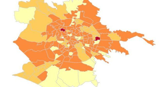 Coronavirus, a Roma il contagio quartiere per quartiere: record negativo a Garbatella, boom di contagi sull'Appia