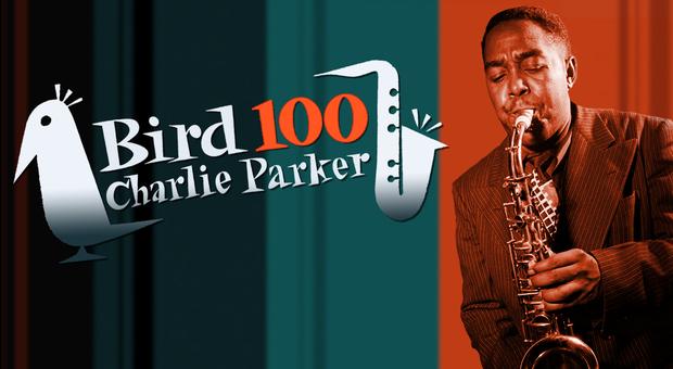 Il manifesto per i 100 anni dalla nascita di Charlie Parker