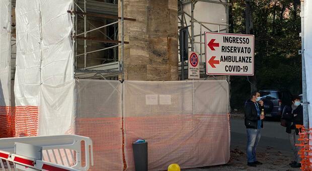 Covid Hospital, prorogate le ordinanze per Pantalla e Spoleto