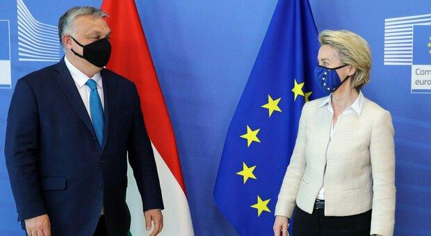 Orban, la legge anti Lgbt non piace a Von Der Leyen: «È una vergogna»