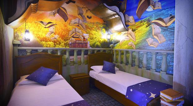 Gardaland, pronte le prime camere del nuovo Magic Hotel