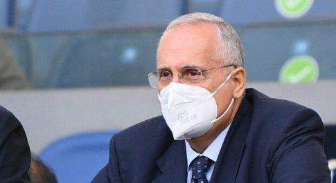 Lotito: «Mi auguro che la Lazio scenda in campo per il derby con l'atteggiamento di chi vuole raggiungere grandi targuardi»