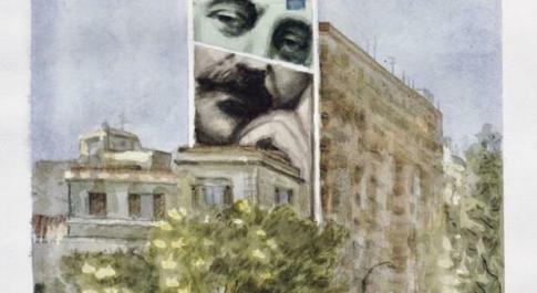 Murales con Falcone