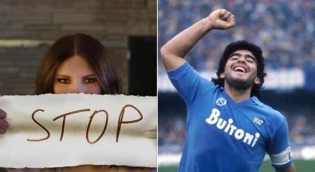 Maradona, Laura Pausini: «Fa più notizia di donne abbusate». Mannoia: «Basta polemica becera»
