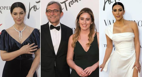 Teatro dell'Opera, da Kim Kardashian a Giachetti e Boschi, sfilata vip per la Traviata di Sofia Coppola