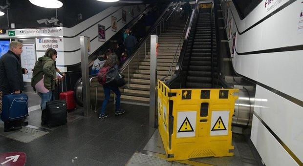 Le scale immobili vergogna Capitale