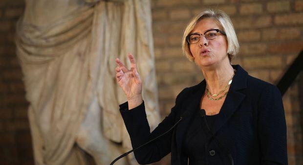 Il ministro della Difesa, Roberta Pinotti