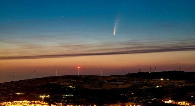 La notte della Cometa in diretta web con il Gruppo Astrofili Frentani