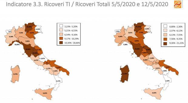 L'andamento dell'epidemia Regione per Regione. Ma sulle strategie ognuno va per sé