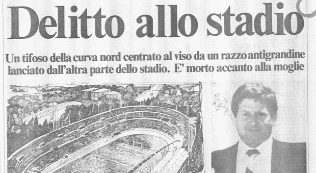 Paparelli, 38 anni fa quel razzo che sconvolse per sempre il ...