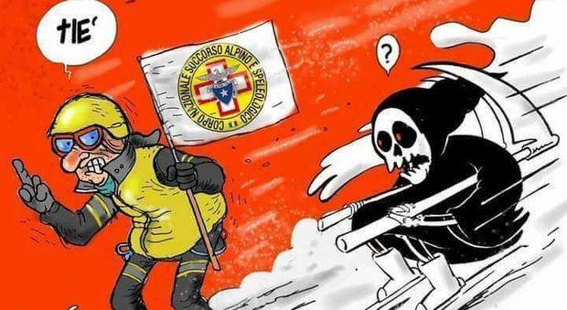 Charlie Hebdo, la risposta del sindaco di Amatrice è a suon di vignette