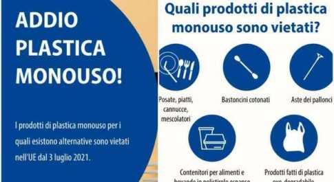 Plastica monouso, da oggi lo stop in tutta Europa: quali prodotti sono vietati