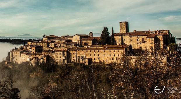 Il borgo di Parrano, foto di Elena Volterrani