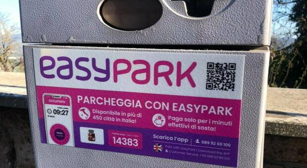 """A Orvieto sosta a pagamento anche con la App """"EasyPark"""""""